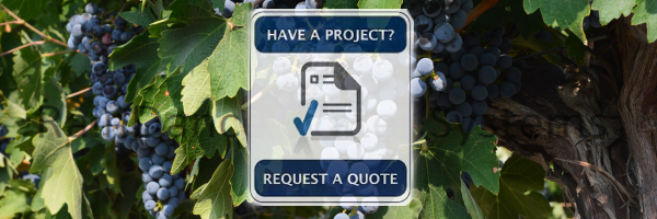 Water treatment for wineries, grapes, vineyards, and crops
